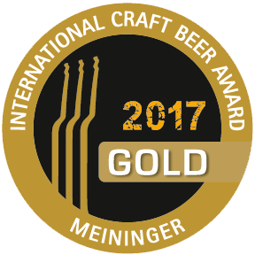 Meiniger International Craft Beer Award Gold 2017